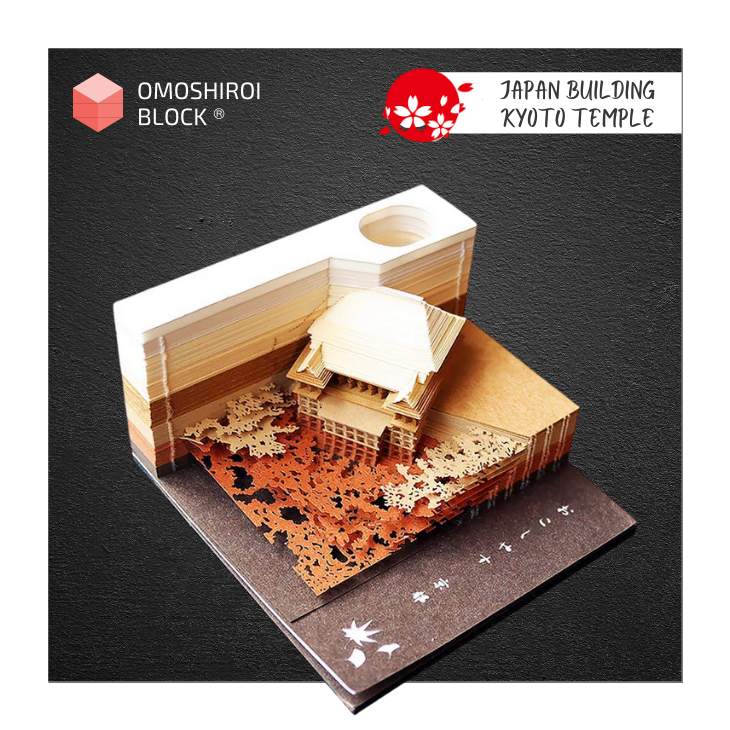 Omoshiroi Block - Kyoto Temple