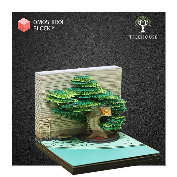 9 - ®OMOSHIROI Block