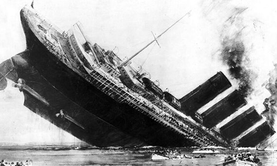 The picture of the Titanic