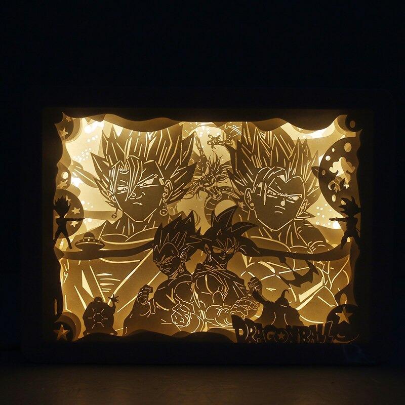 Dragon Ball Omoshiroi Block Light Box